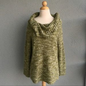 CHICO'S Sequin Sweater Size 1